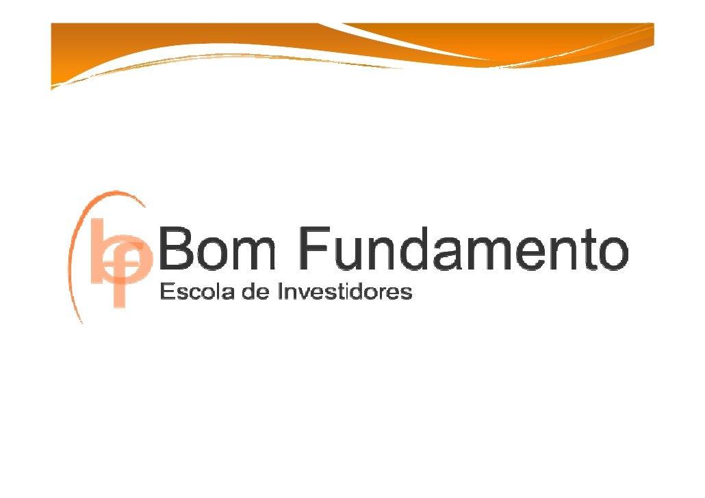 Eleandro Marques E-mail eleandro@bomfundamento.com.br         Joinville - 047 3026 3260       www.bomfundamento.com.br    ...
