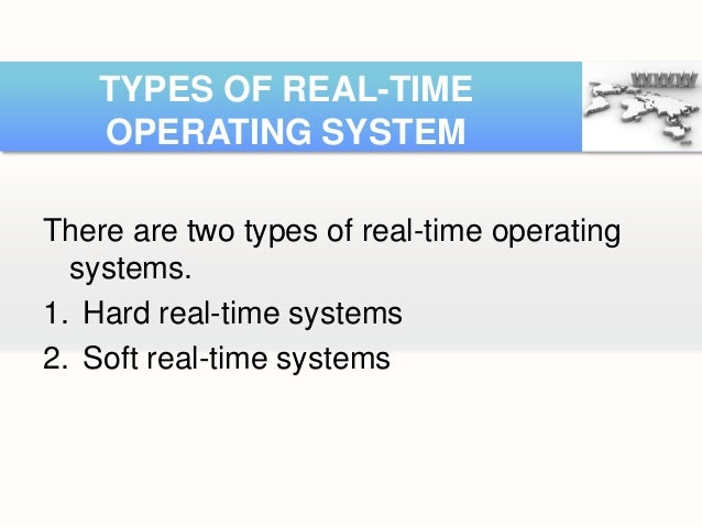 classification of operating system Almost every type of computer, including cellular telephones, needs an operating  system in order to operate properly when one turns on a computer, the.