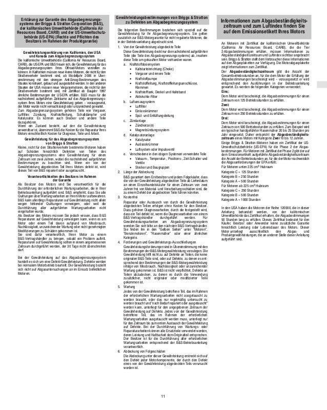 Tolle briggs und stratton motor diagramm frei zeitgenssisch operating maintenance instructions manual briggs and stratton fandeluxe Image collections