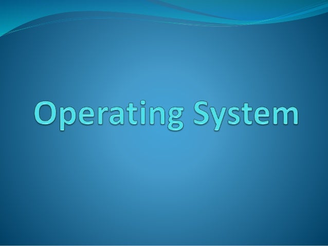 Operating system is a system software which is interface between computer user and computer hardware. It is master control...