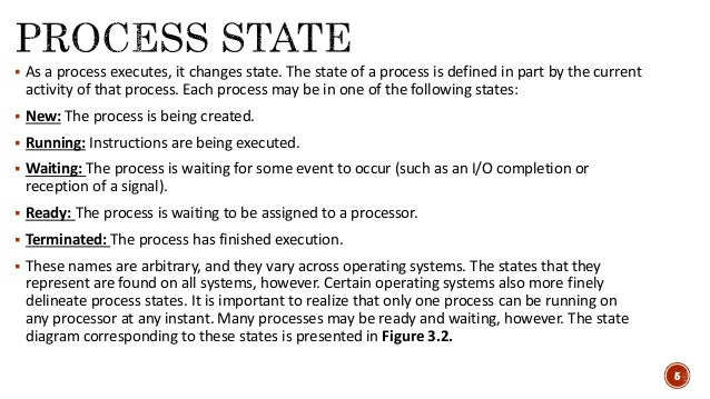 Operating system - Process and its concepts