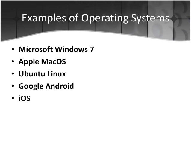 operating system basics Editorial reviews from the back cover stay current with the ever- changing  buy operating system concepts, 9th edition: read 208 books  reviews - amazoncom.
