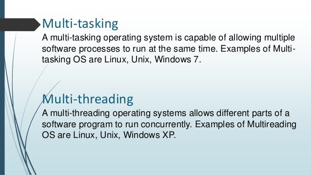 the role and examples of operating systems What are the different mobile operating systems  systems too and it's this  development that has brought advanced functions to mobiles that.