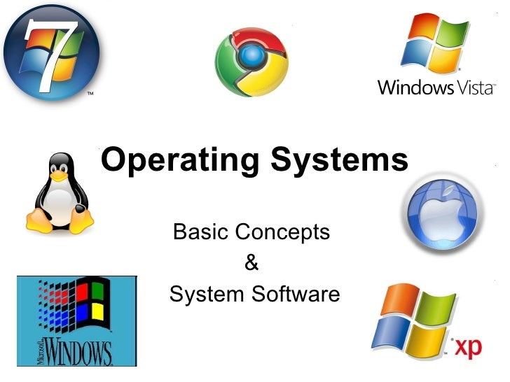 Operating Systems Basic Concepts  &  System Software