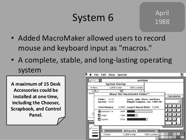 A History of Mac OS