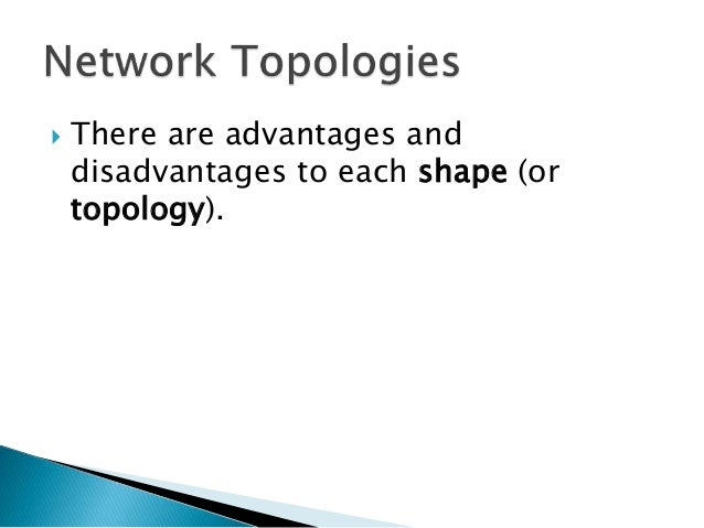 tree network topology advantages and disadvantages pdf