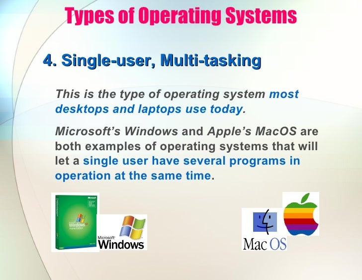 Basics of the operating system