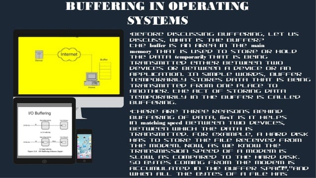 Operating systems types, spooling and buffering