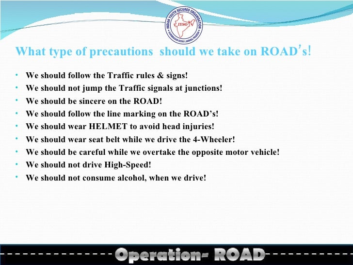 essay on traffic rules follower Breaking traffic rules and safety rules are normal because it just needs some money to get out of the trouble and  road safety essay national safety day road .