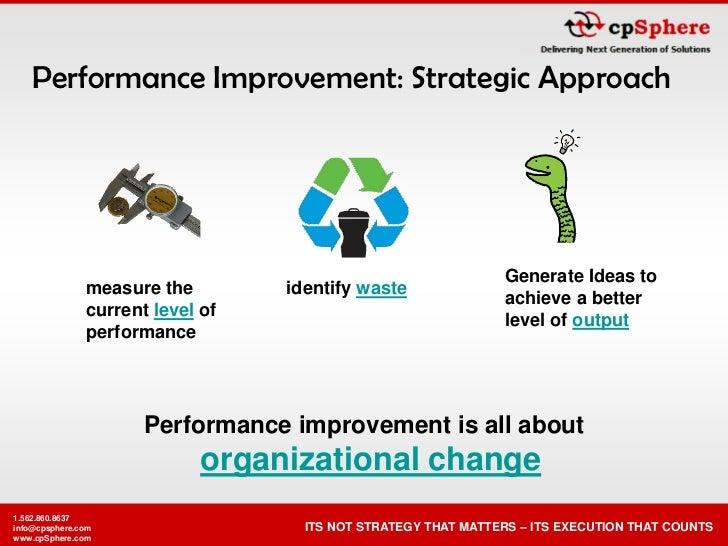 Performance Improvement: Strategic Approach                                                                    Generate Id...