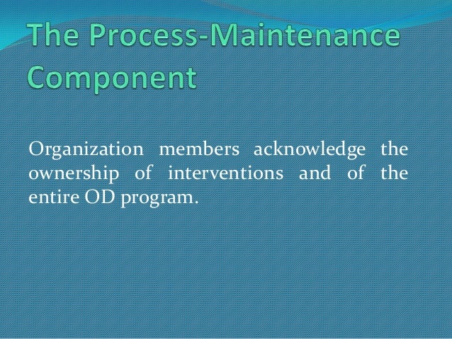 operational components of od pdf
