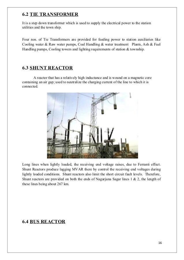 operational description of 400kv switchyard ntpc ramagundam rstps 16 6 2 tie transformer