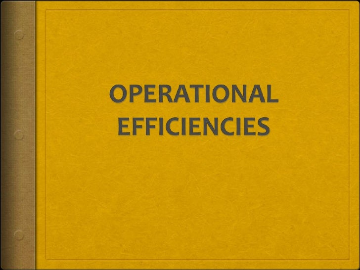 Operational Margin Your operating margin is a metric that reflects how  effectively your business runs. Operating margins...