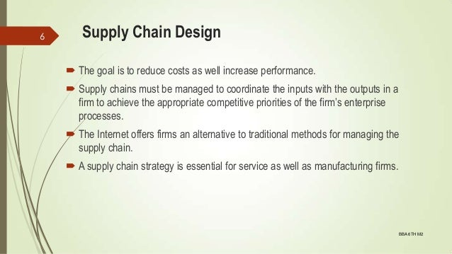 9-supply Chain Design. OPerations Management