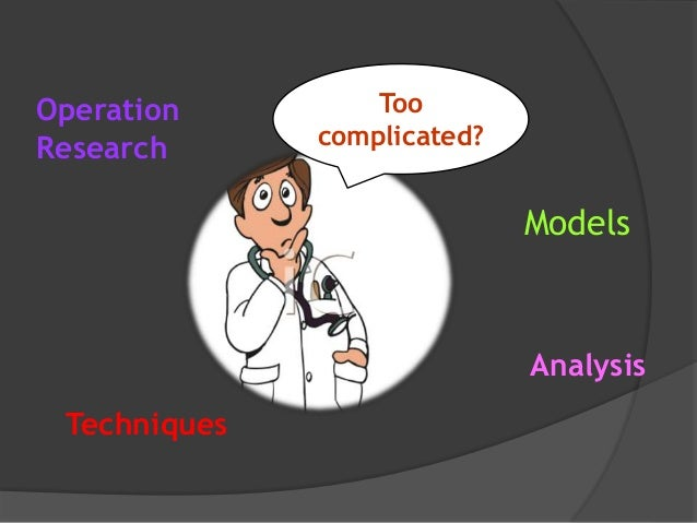 Dissertation topics in operations research
