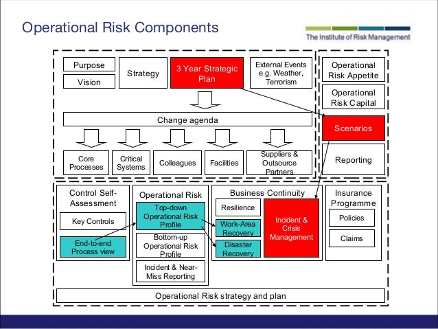 Managing operational risks business plan