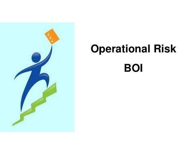 Operational Risk  BOI