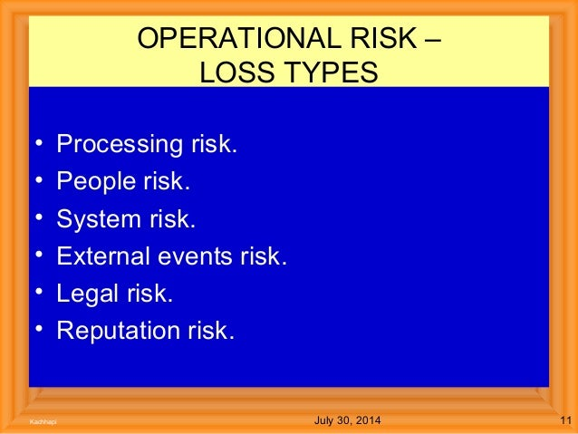 operational risk in banks pdf