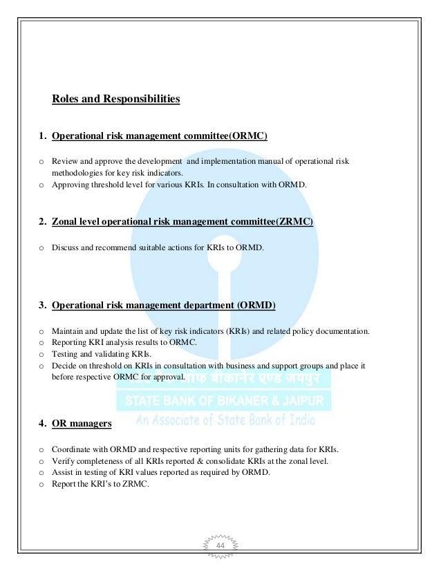 Risk - Operational Risk - Associate/VP - Frankfurt