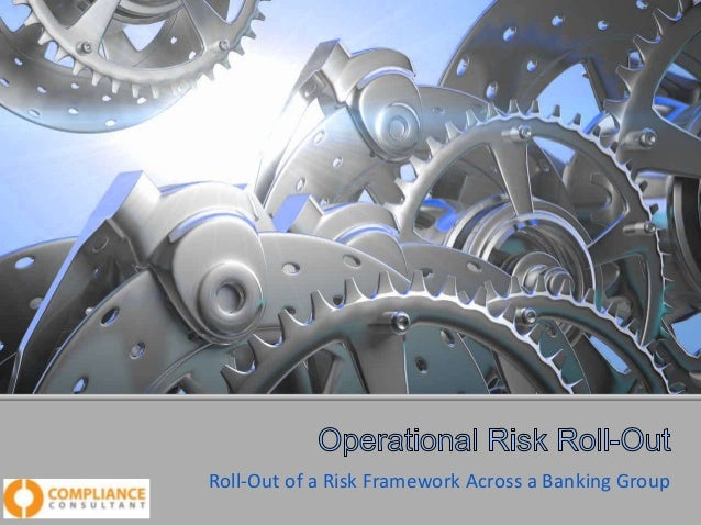 Roll-Out of a Risk Framework Across a Banking Group