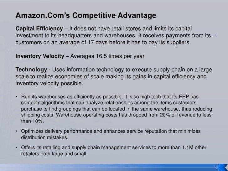 Amzon's competitive advantage