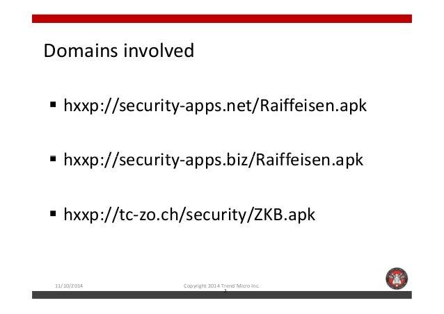 Domains involved   hxxp://security-apps.net/Raiffeisen.apk   hhxxxxpp::////sseeccuurriittyy--aappppss..bbiizz//RRaaiifff...