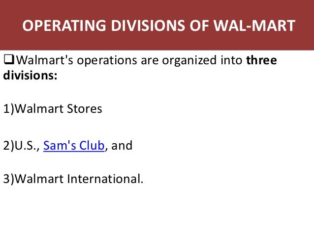 operations management within wal mart essay Ikea: operations management  their hope is to expand their international operations to one day become  wal-mart and ikea have joined forces to sway the.