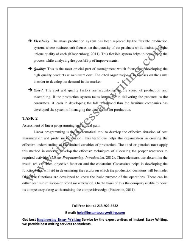 sample on operation management in business by instant essay writing  11