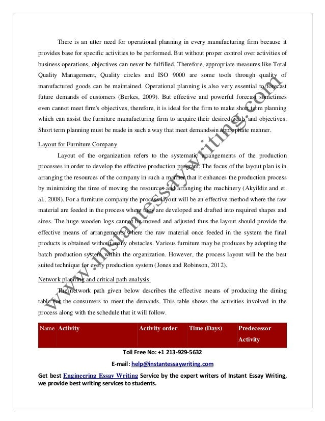sample on operation management in business by instant essay writing  13