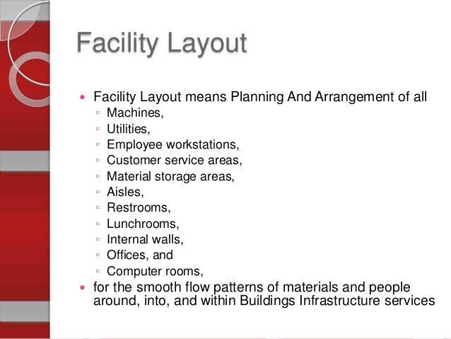 facility layout in operations management.ppt