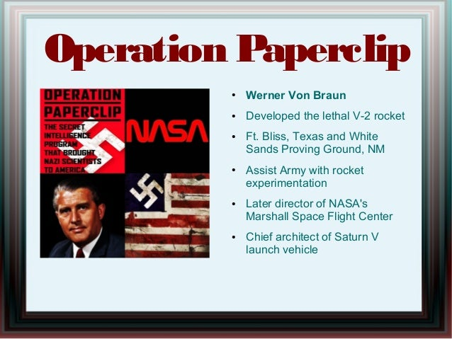 Image result for operation paperclip