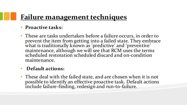 Maintenance methodology systems in manufacturing