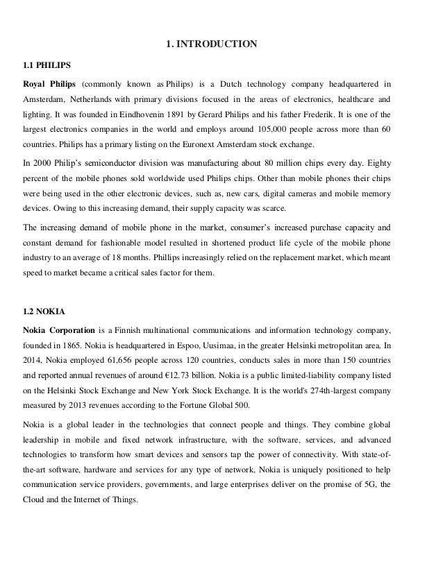 the problem of nokia company essay Nokia company background company information nokia corporation (nokia) is player in mobile industry the company makes a range of mobile devices with services and software that enable people to experience music, navigation, video, television, imaging, games, business mobility and more.