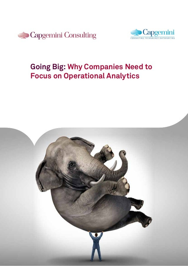 Going Big: Why Companies Need to Focus on Operational Analytics