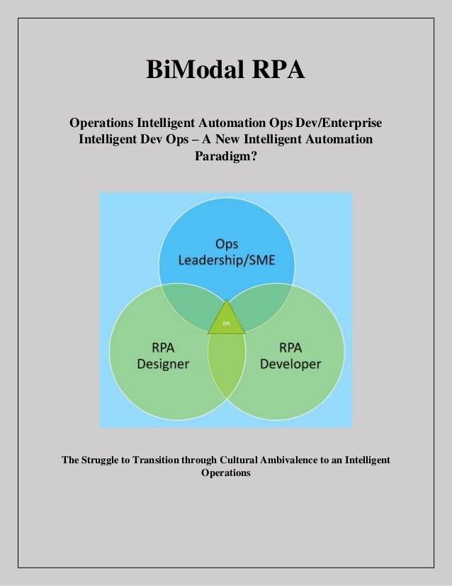 Rpa Operating Model Pdf