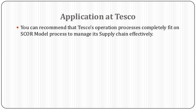 tesco 5 operation performance objectives 61 overview of operations management  5 business process re-engineering (bpr)  performance eg high low method, time series and regression analysis, or.