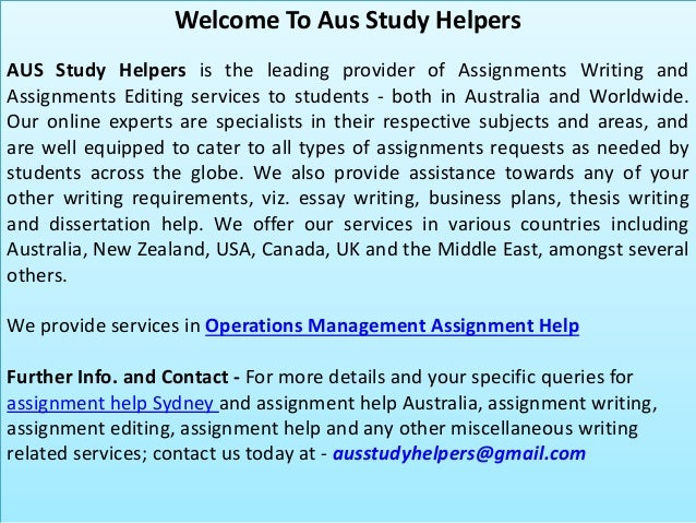 operations management assignment help operations management assignment help 1 ausstudyhelpers com 2