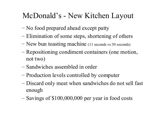 operational objective for mcdonalds You are leaving the mcdonald's corporation web site for a site that is controlled by a third party, not affiliated with mcdonald's the content and policies.