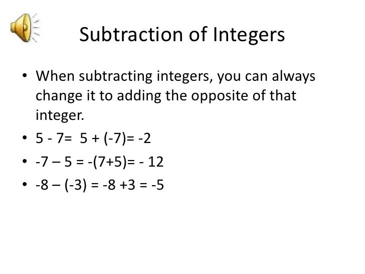how to do integers order of operations
