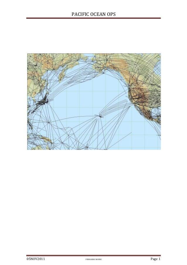 PACIFIC OCEAN OPS  05NOV2011  FERNANDO NOBRE  Page 1