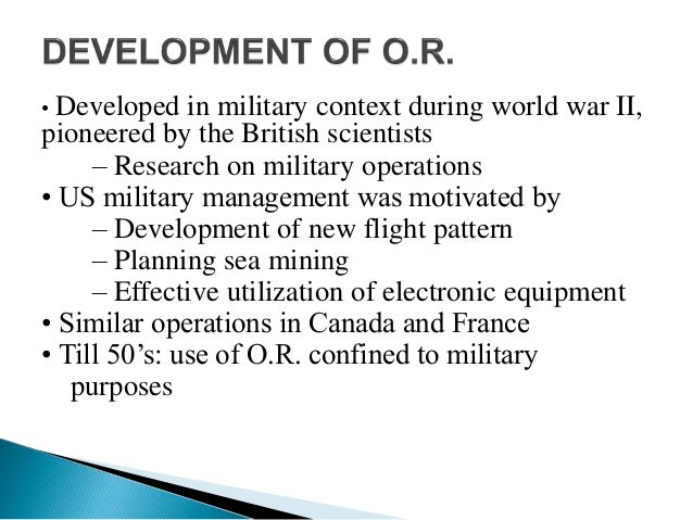 an overview of operations research and management Operations management is a field  career guide top executive guide application research   what is operations management and what makes a good operations.