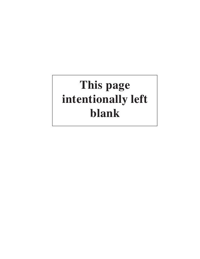 This pageintentionally left     blank