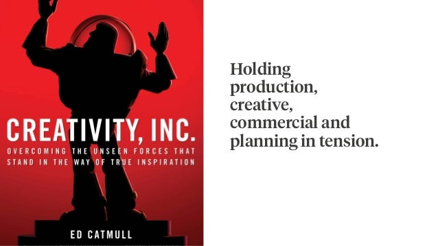 Holding production, creative, commercial and planning in tension.