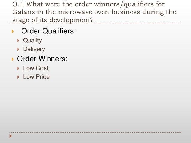 order winner and order qualifier pdf