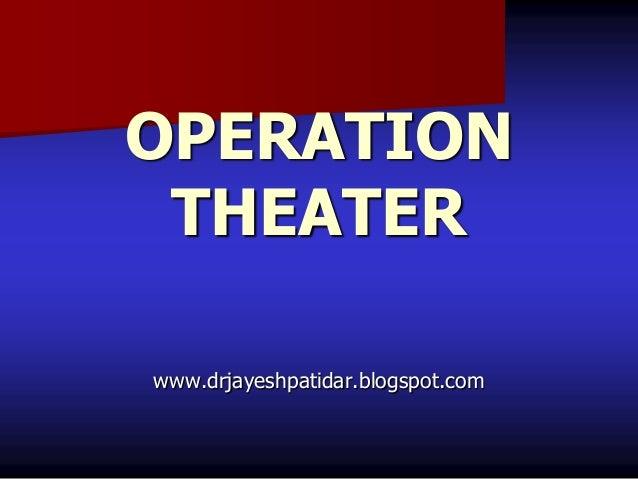 OPERATIONTHEATERwww.drjayeshpatidar.blogspot.com
