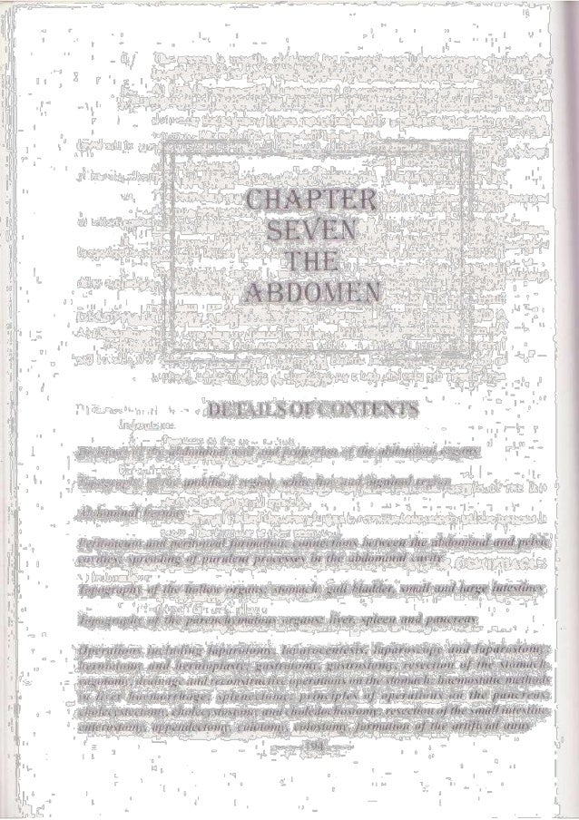 Operative surgery-7-Abdomen