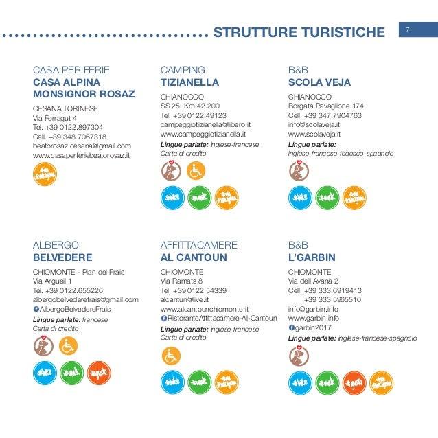 7 STRUtture turistiche Casa per Ferie Casa Alpina Monsignor Rosaz CESANA TORINESE Via Ferragut 4 Tel. +39 0122.897304 Ce...