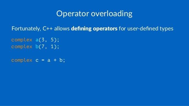 C# - Operator Overloading