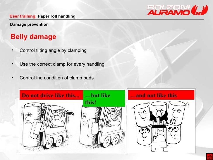 <ul><li>Control tilting angle by clamping </li></ul><ul><li>Use the correct clamp for every handling </li></ul><ul><li>Con...