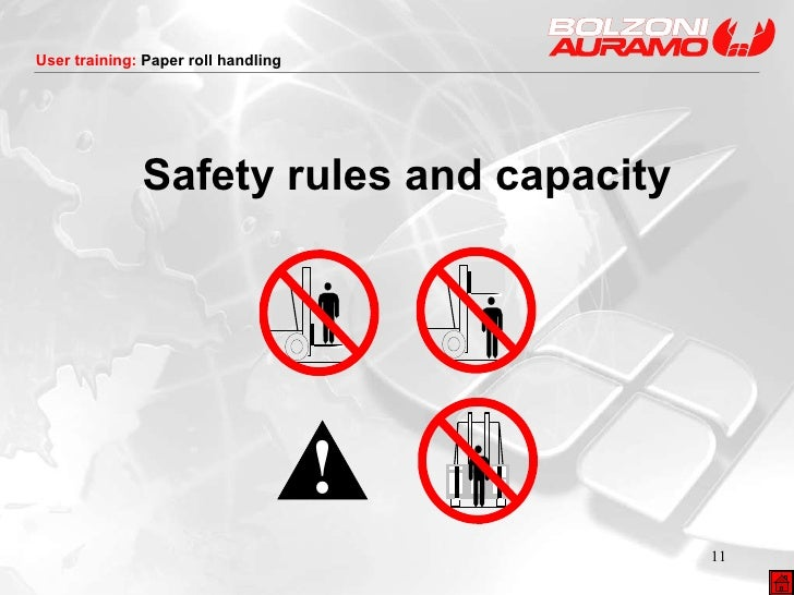 Safety rules and capacity
